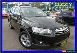 Classic 2012 Holden Captiva CG MY12 7 CX (4x4) Black Automatic 6sp A Wagon for Sale