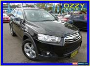 2012 Holden Captiva CG MY12 7 CX (4x4) Black Automatic 6sp A Wagon for Sale