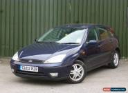 2002 FORD FOCUS 1.6 ZETEC BLUE for Sale