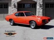 Pontiac: GTO The Judge for Sale