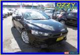 Classic 2008 Mitsubishi Lancer CJ VR-X Black Manual 5sp M Sedan for Sale