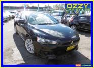 2008 Mitsubishi Lancer CJ VR-X Black Manual 5sp M Sedan for Sale
