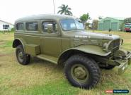 1942 Dodge 4x4 Army Carryall for Sale