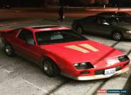 1987 Chevrolet Camaro for Sale