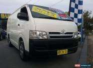 2006 Toyota Hiace TRH201R LWB White Manual 5sp M Van for Sale