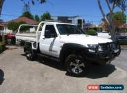 2006 Nissan Patrol GU ST (4x4) White Manual 5sp M Utility for Sale