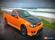 Ford xr6 turbo BF MK2 manual ute; larger turbo MTA750 for Sale