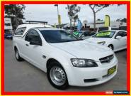 2009 Holden Ute VE MY09.5 Omega White Automatic 4sp A Utility for Sale