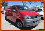 Classic 2010 Volkswagen Transporter T5 MY11 Red Manual 5sp M Van for Sale