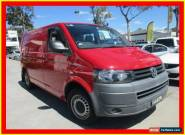 2010 Volkswagen Transporter T5 MY11 Red Manual 5sp M Van for Sale