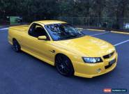2006 Holden Commodore VZ MY06 Upgrade SS Thunder Devil Yellow Manual 6sp M for Sale