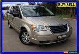 Classic 2009 Chrysler Grand Voyager RT LX Gold Automatic 6sp A Wagon for Sale