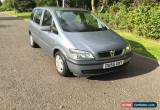 Classic 2005 VAUXHALL ZAFIRA LIFE SILVER 1.6 16v 81000 miles 8 months mot drive great  for Sale