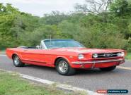 1966 Ford Mustang A-Code GT Convertible  for Sale