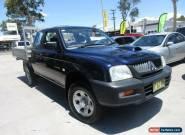 2005 Mitsubishi Triton MK MY05 GLX Blue Manual 5sp M Utility for Sale