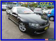 2004 Ford Falcon BA XR6 Black Manual 5sp M Utility for Sale