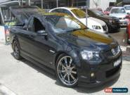 2010 Holden Commodore VE II SS Black Manual 6sp M Utility for Sale
