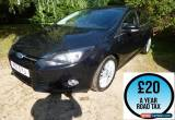 Classic 2011 Ford Focus 1.6TDCi 115 Zetec 5dr hatchback Diesel for Sale