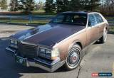 Classic 1983 Cadillac Seville for Sale