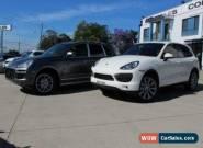 2010 Porsche Cayenne Series 2 S White Automatic 8sp A Wagon for Sale