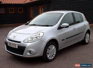 2010 RENAULT CLIO I-MUSIC 1.2 16v SILVER 5 DOOR - LOW MILEAGE, FSH, LONG MOT for Sale
