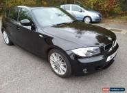 2011 BMW 120D M SPORT AUTO BLACK, 1/2 LEATHER 51000 MILES 5 DOOR for Sale