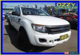 Classic 2012 Ford Ranger PX XL 3.2 (4x4) White Automatic 6sp A Dual Cab Utility for Sale