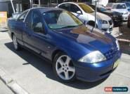 2001 Ford Falcon Auii XL (LPG) Blue Automatic 4sp A Utility for Sale