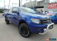 2012 Ford Ranger PX XL Hi-Rider Blue Automatic A 4D Cab Chassis for Sale