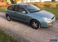 2000 FORD FOCUS 1.6 ZETEC GREEN - NO RESERVE for Sale