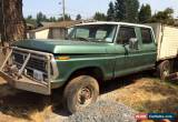 Classic 1974 Ford F-250 f250 for Sale
