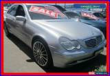 Classic 2002 Mercedes-Benz C320 W203 Elegance Silver Automatic 5sp A Sedan for Sale
