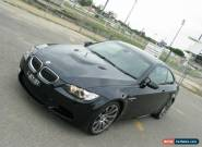 2008 BMW M3 E92 Black Manual 6sp M Coupe for Sale