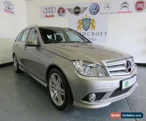 Classic MERCEDES C CLASS 2.1 C220 CDI SPORT 2009 Diesel Manual in Silver for Sale