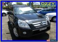 2006 Honda CR-V 2005 Upgrade (4x4) Sport Black Automatic 5sp A Wagon for Sale