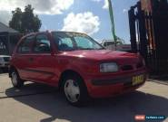 1996 Nissan Micra SLX Red Automatic A Hatchback for Sale