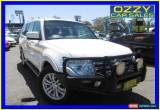 Classic 2009 Mitsubishi Pajero NT GLS LWB (4x4) White Automatic 5sp A Wagon for Sale