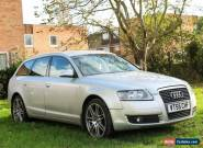 2006 AUDI A6 AVANT 2.0 TDI DIESEL AUTO SILVER, LONG MOT, FULLY LOADED, HPI CLEAR for Sale