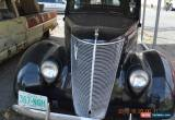 Classic 1937 Ford 2 DOOR STOCK for Sale