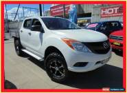2012 Mazda BT-50 UP0YF1 XT White Automatic A 4D Utility for Sale