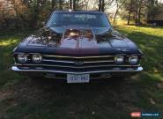 1969 Chevrolet Chevelle SS LS3 6.2 5speed for Sale