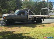 Ford F250 Tray Back Tipper, Dual Fuel, New Engine, 1990, Safety Certificate for Sale