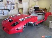 1986 Chevrolet Corvette Base Convertible Body & Chassis for Sale