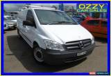 Classic 2011 Mercedes-Benz Vito MY11 116CDI SWB White Automatic 5sp A Van for Sale