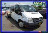 Classic 2008 Ford Transit VM Extended Frame White Manual 6sp M Crewcab for Sale