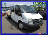 2008 Ford Transit VM Extended Frame White Manual 6sp M Crewcab for Sale