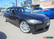 2007 BMW 323I E90 MY08 Black Automatic A Sedan for Sale