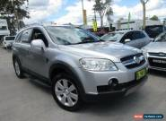 2007 Holden Captiva CG LX Silver Automatic 5sp A Wagon for Sale