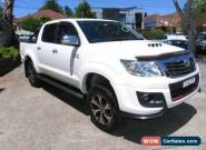 2015 Toyota Hilux True White Automatic A Dual Cab for Sale
