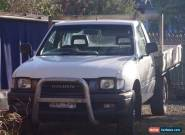 Holden Rodeo 2001 Ute Cab Chassis 3.2 V6 Manual Duel Fuel  for Sale